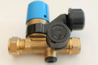 Boiler-Sicherheitsgruppe BFK 12/10 zur Absicherung von Warmwasser Wandspeicher