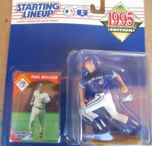 Kenner Starting Lineup Sports Collectible 1995 PAUL MOLITOR  BLUE JAYS SLU MLB