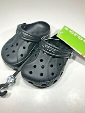 Kids Genuine Croc shoes black size 4/5 (kids) - joblot  10 pairs