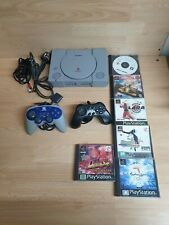 Playstation 1 PS1 PAL Console Bundle Joblot With 6 Games