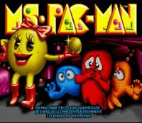 Ms. Pac-Man - SNES Super Nintendo Game
