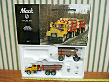 Mack Logging Model R Heavy-Duty Truck With Trailer By First Gear 1/34th Scale >