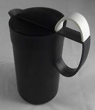 Tupperware C 104 Crema Momenti für Milchschaum 500 ml Schwarz / Weiß Neu OVP