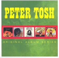 PETER TOSH - 5xCD Original Album Series *BRAND NEW*
