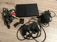 PS2 Playstation 2 Slim Console with all Cables and 1 Controller.