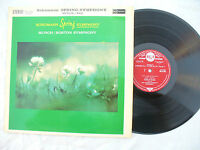 SCHUMANN SPRING SYMPHONY LP MUNCH / BSO stereo red seal sb 2126.....33rpm