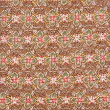 HERMES Copper Brown Floral Burst  Red Green 7675 TA Luxury Tie Mens Silk Necktie