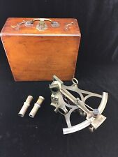 Antique R.F. Knobloch Bremerhaven Germany Bronze Sextant Nautical Instrument