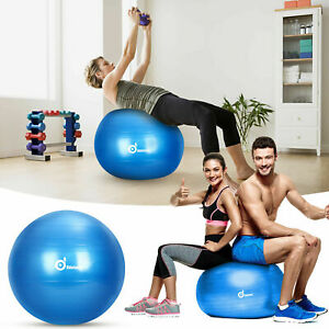 Exercise Gym Yoga Ball Fitness Trainer Pilates Sculpting Balance Muscle Therapy