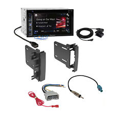 Pioneer 2016 Radio Stereo Din Dash Kit Harness for 2007-14 Chrysler Dodge Jeep