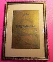 1939 San Francisco GOLDEN GATE INTERNATIONAL EXPOSITION BOOKLET Worlds Fair book