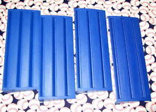 Rummikub Rummy Tile Game Replacement Set Of 4 Blue Tile Holders Racks