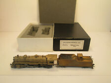 MIDLAND VALLEY 2-8-2 - BRASS STEAM LOCOMOTIVE  HALLMARK MODELS INC.