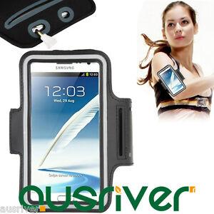 Sports Gym Running Jogging Armband Strap Samsung Galaxy Note 4/3/2/1 Sony Z2/Z1