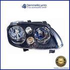 Front Headlight Right P Black Mot Ele. - Right - Volkswagen Touran 03- > 06
