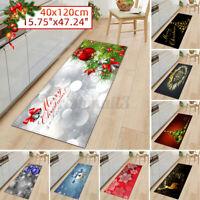 40x120CM Christmas Door Mat Kitchen Floor Area Rug Bedroom Living Room Carpet