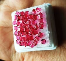 Awesome 6.95 Ct 50 Pcs Square Shape Natural Ruby Gemstone For Sale eBay