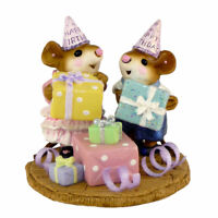 Wee Forest Folk Miniature Figurine M-224a - Party Kids