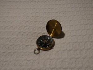 Vintage German Brass Pocket Compass