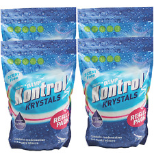 4 x Kontrol Refill Moisture Trap Damp Absorber Crystals Huge Pack Krystals 2.5kg