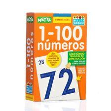 Tarjetas Matemáticas 1-100 Números Multi-GRADO