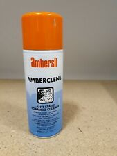 GREAT PRICE! 12 X Ambersil Amberclens Anti-Static Foaming Cleaner 400ml Aerosol