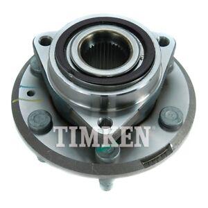 Wheel Bearing and Hub Assembly Front,Rear Timken HA590227