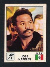 RARE 1975 Panini JOSE NAPOLES (HOF) Boxing Card #63 Sport Vedettes (RARE SET)