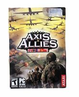 Axis & Allies PC Computer Game Atari Complete with Manual and 2 Discs