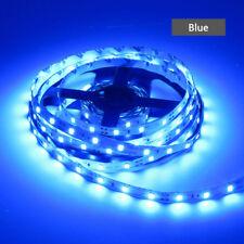Blue 5M SMD 3528 60Leds/m LED Strip Light Flexible 300Led Lamp DC 12V Hot