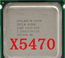 Intel Xeon X5470 3.33GHz LGA 771 SLBBF 4-Core 1333M 12M Cach CPU Processor