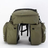 Bicycle Rear Pannier Bag 37L  With Rain Cover Cycling Detachable 3 in 1 Bag NEW#