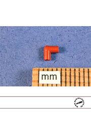 1/12 90° SILICON SPARK PLUG BOOTS in BURNT ORANGE 8PC for TAMIYA DOYUSHA OTAKI