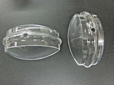 2 Replacement lenses for MOST Duncan and SOME POM parking meters, NEW!