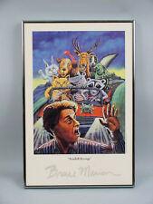 """Bruce Marion """"Roadkill Revenge"""" Framed Offset Lithograph Print #5 of 250"""
