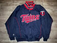 Vintage Majestic Minnesota Twins Baseball MLB Windstopper Men's Coat Jacket XL