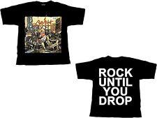 RAVEN - Rock Until You Drop - T-Shirt - Größe Size XL - Neu