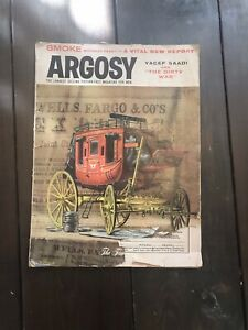 Vintage Argosy Magazine January 1958