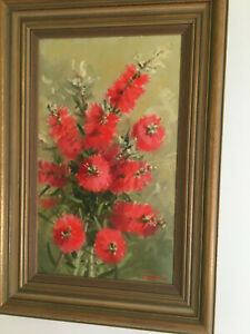 Original oil painting by well known artist jenny paull