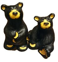 Set Of 2 Bearfoots Bears By Jeff Fleming