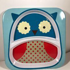 Skip Hop Kids Zoo Divided Owl Plate Mealtime