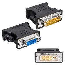 DVI-D zu VGA 24+1 Adapter Stecker Buchse Monitoradapter D-SUB Digital zu Analog