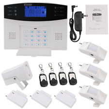 Wireless Home Security System - LCD Burglar Fire Alarm House Auto-Dialer