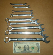"""Vintage Craftsman 9 Combination Wrenches,USA,13/16"""" to 5/16"""", Old Mechanic Tools"""