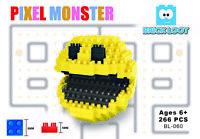 Brick Loot PIXEL Monster Modular Building Brick Blocks - Nano Bricks Set Kit