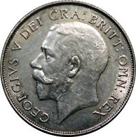 Great Britain 1925 1 Shilling King George England Tougher Date