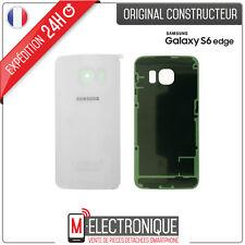 Vitre arrière Blanche Original Samsung Galaxy S6 Edge G925