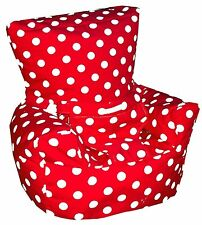 Polka Dot Spots Baby Bean Bag Chair Harness Support Strap