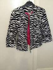 Animal Print Cotton Coats & Jackets for Women
