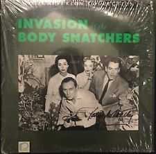 Laderdisc LD Invasion Of The Body Snatchers Criterion Signed Kevin McCarthy